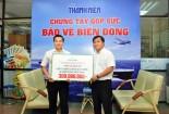 Công ty Hưng Thịnh góp 300 triệu đồng bảo vệ biển Đông
